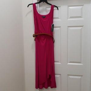 Ralph Lauren Dress Size 12 Color Hot Pink